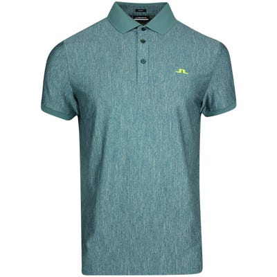 J.Lindeberg Golf Shirt - Towa Slim Fit - Treeline Melange AW21