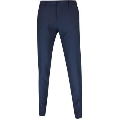 J.Lindeberg Golf Trousers - Ellott Bonded Fleece Pant - JL Navy AW21