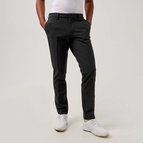 J.Lindeberg Golf Trousers - Ellott Bonded Fleece Pant - Black AW21