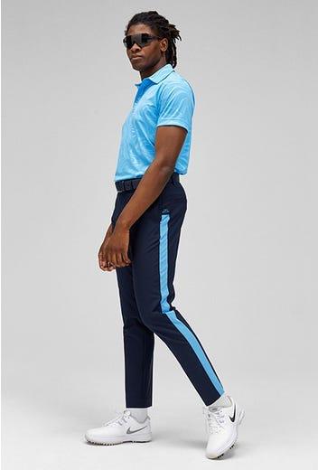 J.Lindeberg - Blue Side Stripe Pants - SS21 Campaign