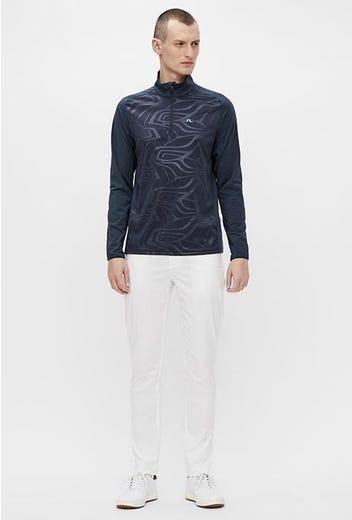 J.Lindeberg - JL Navy Tonal Print Pullover - SS21 Campaign