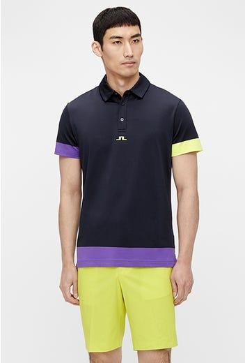 J.Lindeberg - Colour Block Polo Shirt - SS21 Campaign