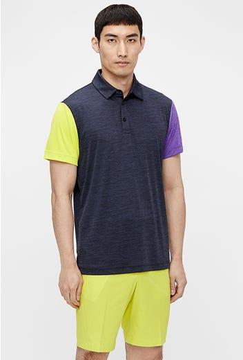 J.Lindeberg - Bright Yellow Golf Shorts - SS21 Campaign