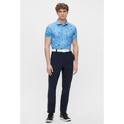 J.Lindeberg - Blue Graphic Print Polo - SS21 Campaign