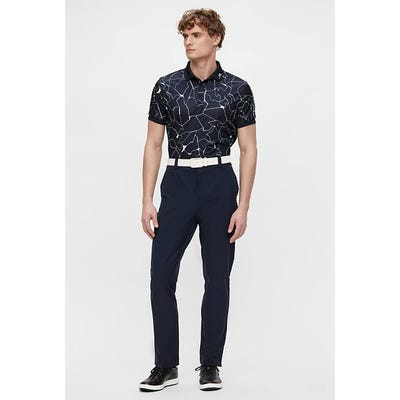 J.Lindeberg - Navy Shattered Effect Polo - SS21 Campaign