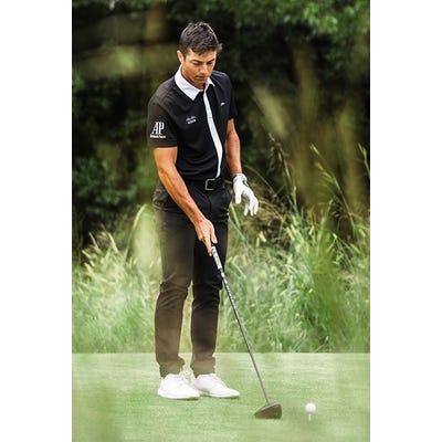 J.Lindeberg - Viktor Hovland Full Placket Polo - SS21 Campaign