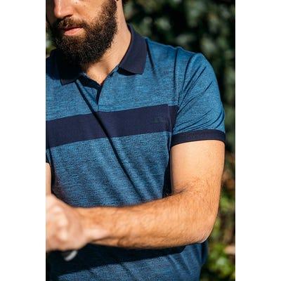 J.Lindeberg - Slim Fit Melange Golf Polo - SS21 Campaign