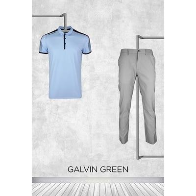 Kurt Kitayama - US PGA Thursday - Galvin Green Golf Shirt 2021