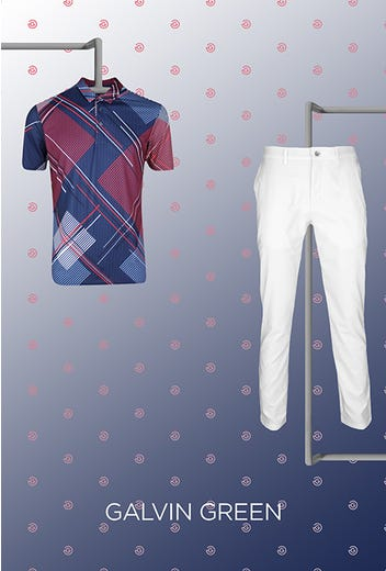 Lanto Griffin - US Open Friday - Geometric Galvin Green Shirt 2021