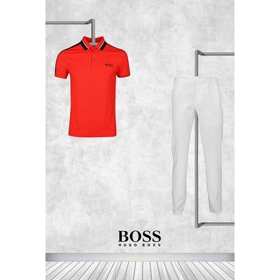 Martin Kaymer - US PGA Thursday - Red BOSS Golf Shirt 2021