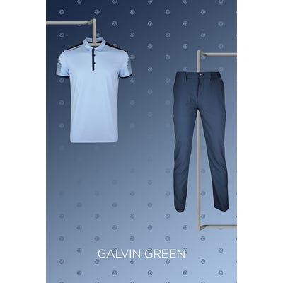 Martin Laird - US Open Thursday - Blue Galvin Golf Shirt 2021