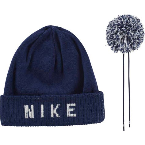 Nike Golf Hat - NK Reversible Pom Beanie - Blue Void AW19