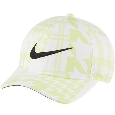 Nike Golf Cap - Houndstooth Aerobill CL99 - Lt Lemon Twist FA21