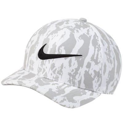 Nike Golf Cap - NK Printed Aerobill CL99 - Grey Fog SU21