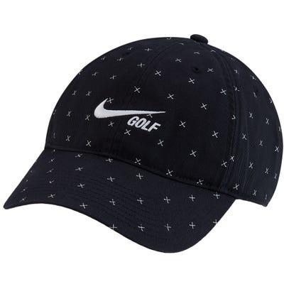 Nike Golf Cap - NK Washed H86 Crossed Clubs - Black FA21