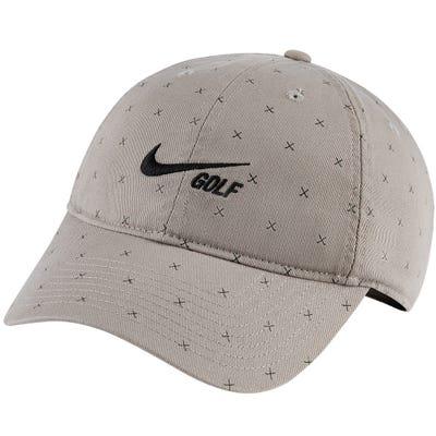 Nike Golf Cap - NK Washed H86 Crossed Clubs - Dust FA21