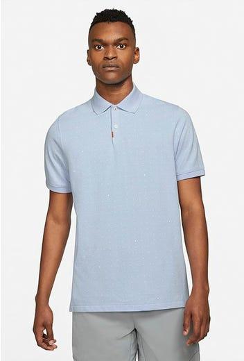 Nike Golf - Light Blue Micro Dot Golf Shirt - Summer 2021
