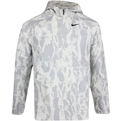 Nike Golf Jacket - NK Bark Print Repel Hoodie - Summit White SU21