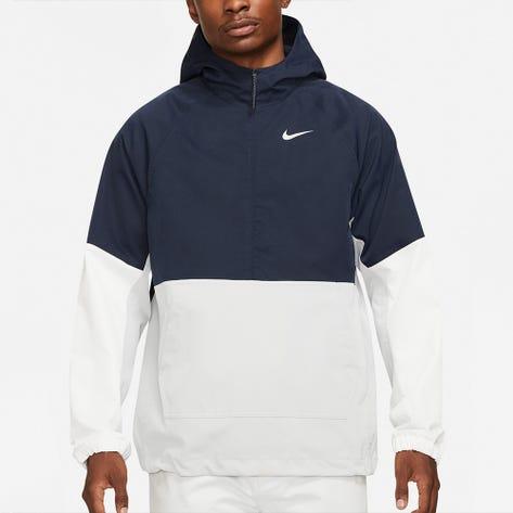Nike Golf Jacket - NK Colourblock Repel Hoodie - Obsidian SU21