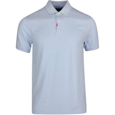 Nike Golf Shirt - Space Dot Polo Slim - Hydrogen Blue SU21