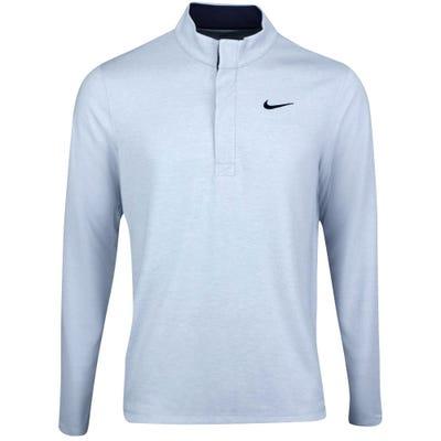Nike Golf Pullover - NK Dry Victory HZ - Hydrogen Blue SU21