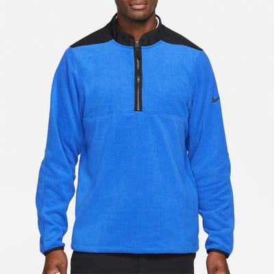 Nike Golf Pullover - NK Therma Victory HZ - Game Royal HO21