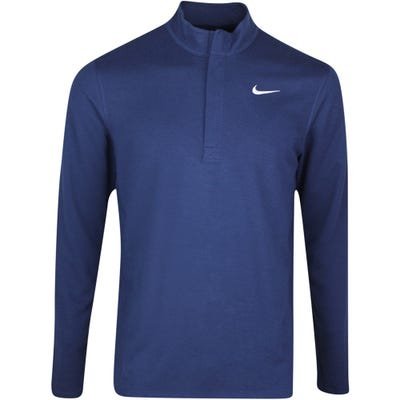 Nike Golf Pullover - NK Dry Victory HZ - College Navy SP21