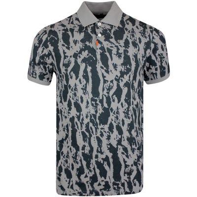 Nike Golf Shirt - Bark Print Polo Slim - Dust SU21