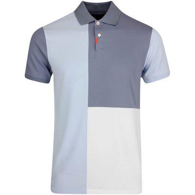 Nike Golf Shirt - Colourblock Polo Slim - Hydrogen Blue SU21