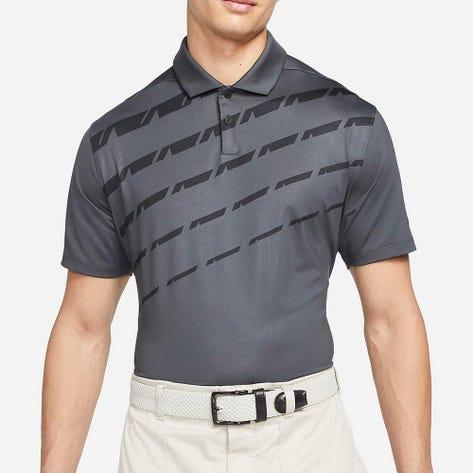 Nike Golf Shirt - NK Dry Vapor Graphic 2 - Dk Smoke Grey FA21