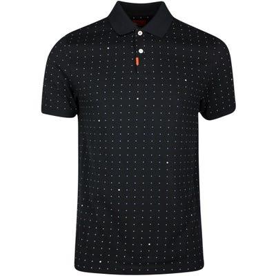 Nike Golf Shirt - Space Dot Polo Slim - Black SP21