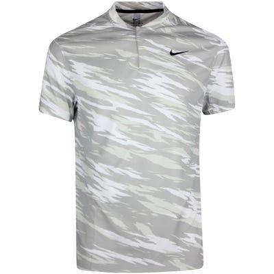 Nike Golf Shirt - TW Dri Fit Camo ADV - White HO21