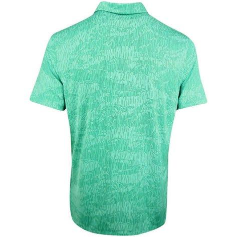 Nike Golf Shirt - NK Dry Vapor Camo Jacquard - Neptune Green SS20