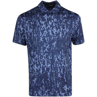 Nike Golf Shirt - NK Dry Vapor Digital - Obsidian SU21