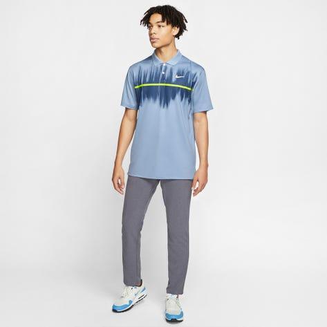 Nike Golf Shirt - NK Dry Vapor Fog Print - Indigo Fog SU20