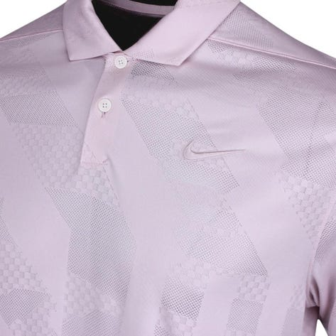 Nike Golf Shirt - NK Dry Vapor Jacquard - Barely Rose FA20