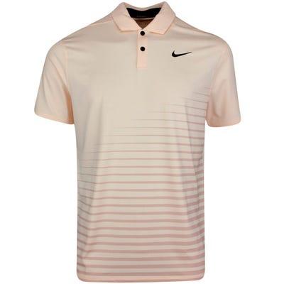 Nike Golf Shirt - NK Dry Vapor Graphic - Crimson Tint SU21