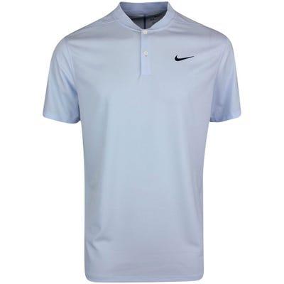 Nike Golf Shirt - NK Dry Victory Blade - Hydrogen Blue SU21