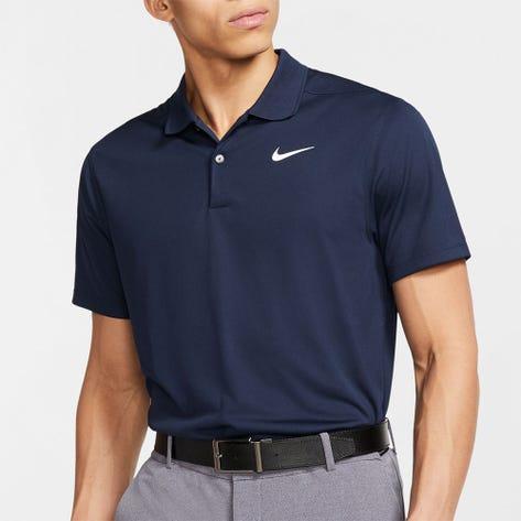 Nike Golf Shirt - NK Dry Victory Slim - Obsidian SU21