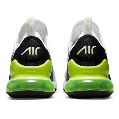 Nike Golf Shoes - Air Max 270 G - White - Volt 2021