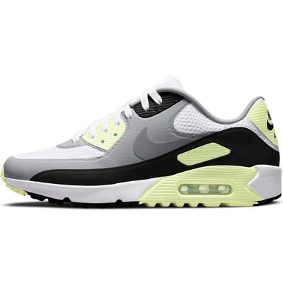 Nike Golf Shoes - Air Max 90 G - White - Barely Volt 2021