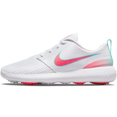 Nike Golf Shoes - Roshe G - White - Hot Punch 2021
