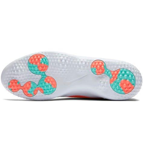Nike Golf Shoes - Roshe G - White - Hot Punch 2019