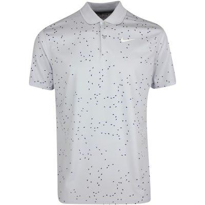 Nike Golf Shirt - NK Dry Victory Print - Sky Grey SU21