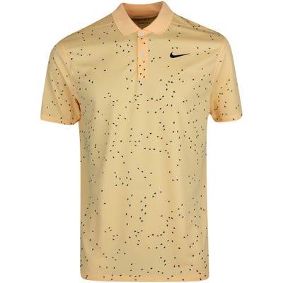 Nike Golf Shirt - NK Dry Victory Print - Melon Tint SU21