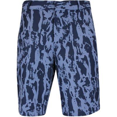 Nike Golf Shorts - NK Dri Fit Hybrid Print - Diffused Blue SU21