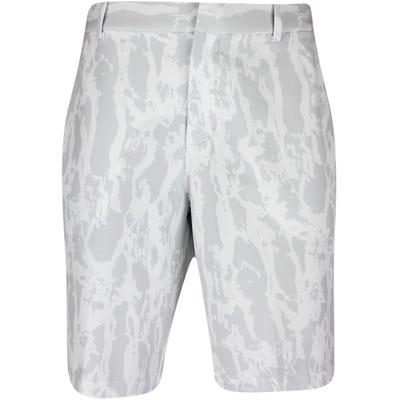 Nike Golf Shorts - NK Dri Fit Hybrid Print - Summit White SU21