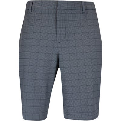 Nike Golf Shorts - NK Dri Fit Hybrid Plaid  - Black FA21
