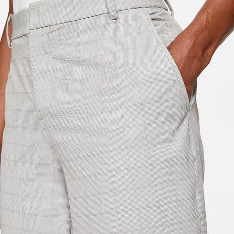 Nike Golf Shorts - NK Dri Fit Hybrid Plaid  - Dust Grey FA21