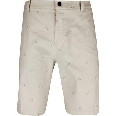 Nike Golf Shorts - NK UV Crossed Clubs Chino - Light Bone FA21